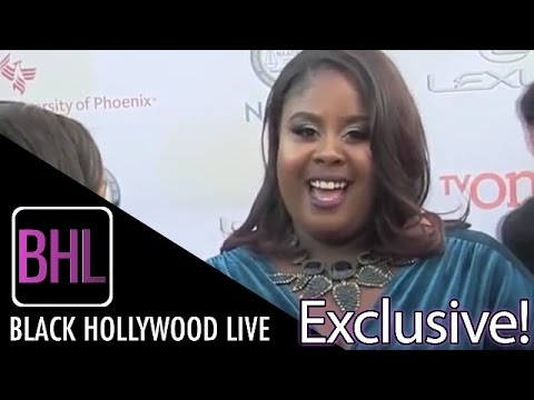 Raven Goodwin @ The 46th Annual NAACP Image Awards | Black Hollywood Live