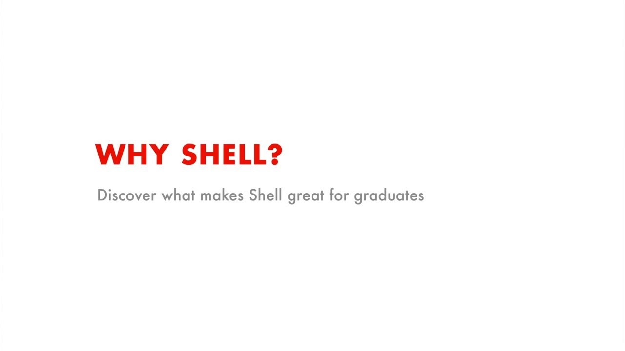Shell Graduate Programme | Shell United Kingdom