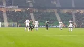 Sakaryaspor 2-0 Nazilli Belediyespor   Maç Özeti (SAHA İÇİ-TRİBÜN)   21.10.2017