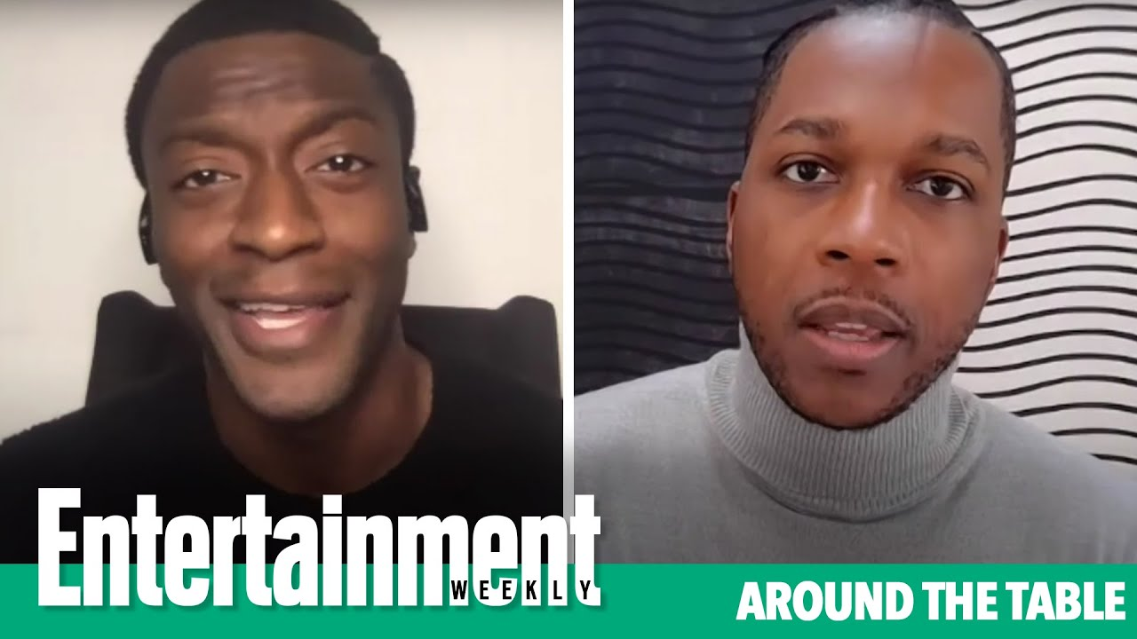 Aldis Hodge and Leslie Odom Jr. On 'One Night In Miami' & the Black Experience | EW