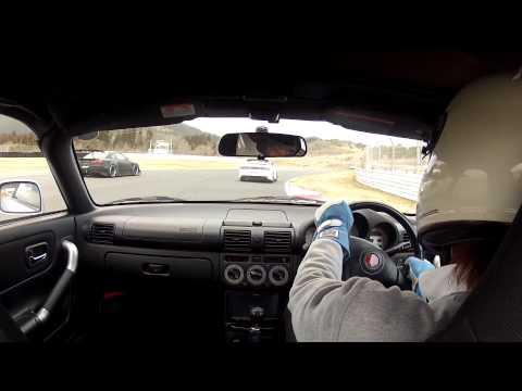 ノーマルMR-Sでオートポリス コーナリングスピードだけでターボ車に挑む!?