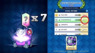 7 LEGENDARY CARDS IN 1 CHEST | 10.000 CARDS TOURNAMENT CHEST OPENING! Clash Royale [Deutsch/German]