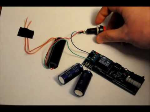 hqdefault the super capacitor based 30kv taser stun gun prototype fast flashlight taser wiring diagram at eliteediting.co