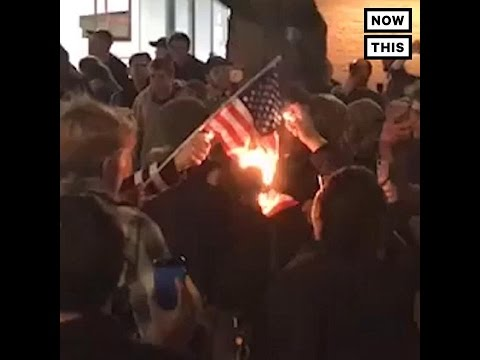 Protests Erupt Across America After Donald Trump