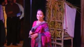 Punchi putha mage scole Anjalin Gunathilaka performe in Dharmaraja college kala ulela 2014