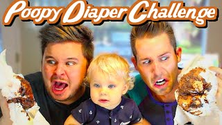 Poopy Diaper Challenge with Daily Bumps!!!