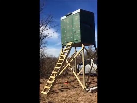 Tower Stands For Bow Hunting Hunting Blind Supply