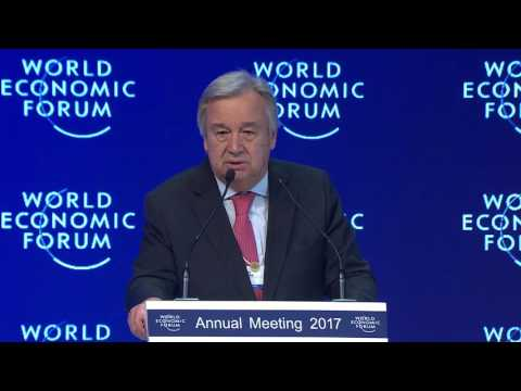 Antonio Guterres - Special Address - Wars
