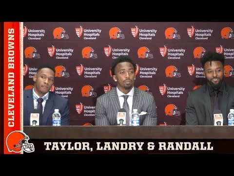 Browns introduce Tyrod Taylor, Jarvis Landry and Damarious Randall