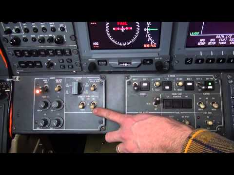 Model 750 Center Wing Transfer Switch Operation