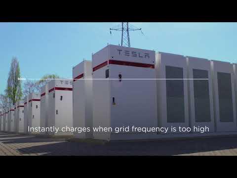 Tesla Powerpacks Balancing the Grid in Terhills, Belgium