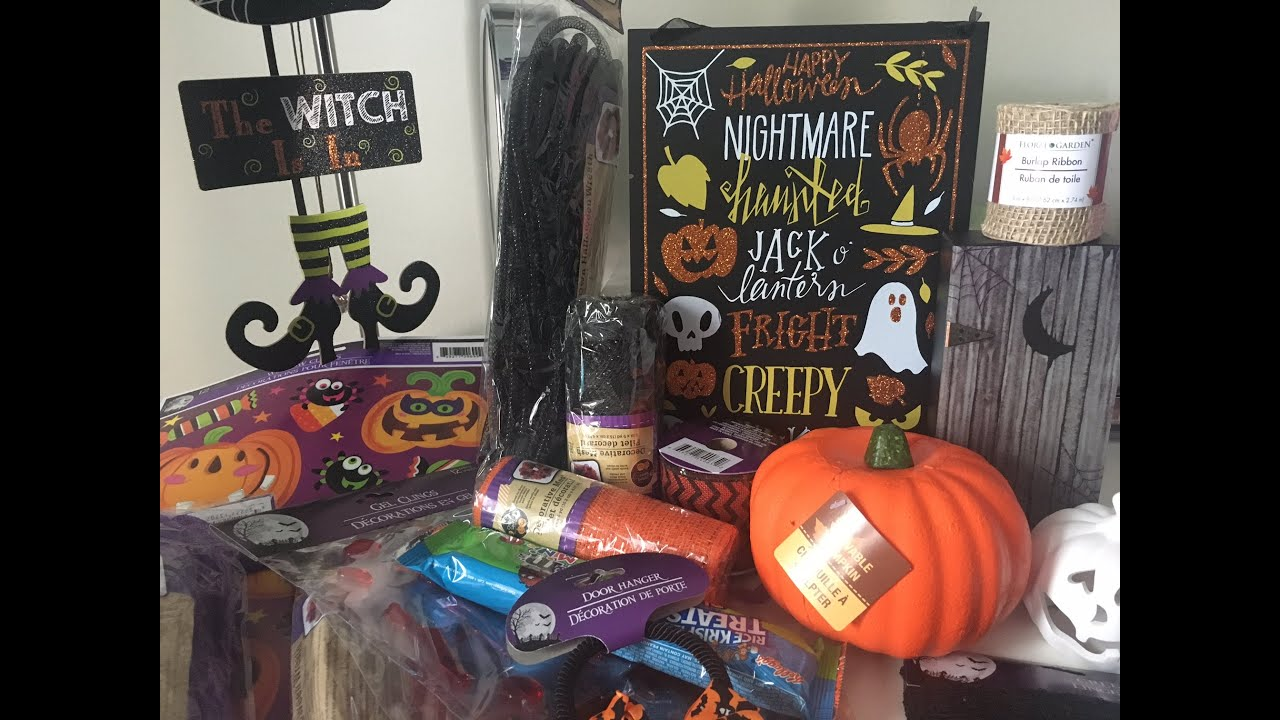 halloween dollar tree haul 2016 - Dollar Tree Halloween