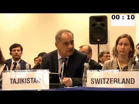 Картинки по запросу ВАРШАВА. ОБСЕ. 23.09.2019 - Ответ представителя Таджикистана Зарифа Ализода
