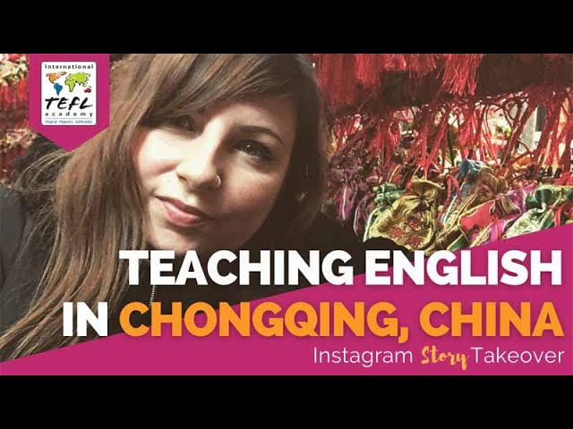 Day in the Life Teaching English in Chongqing, China with Jade Tremblay