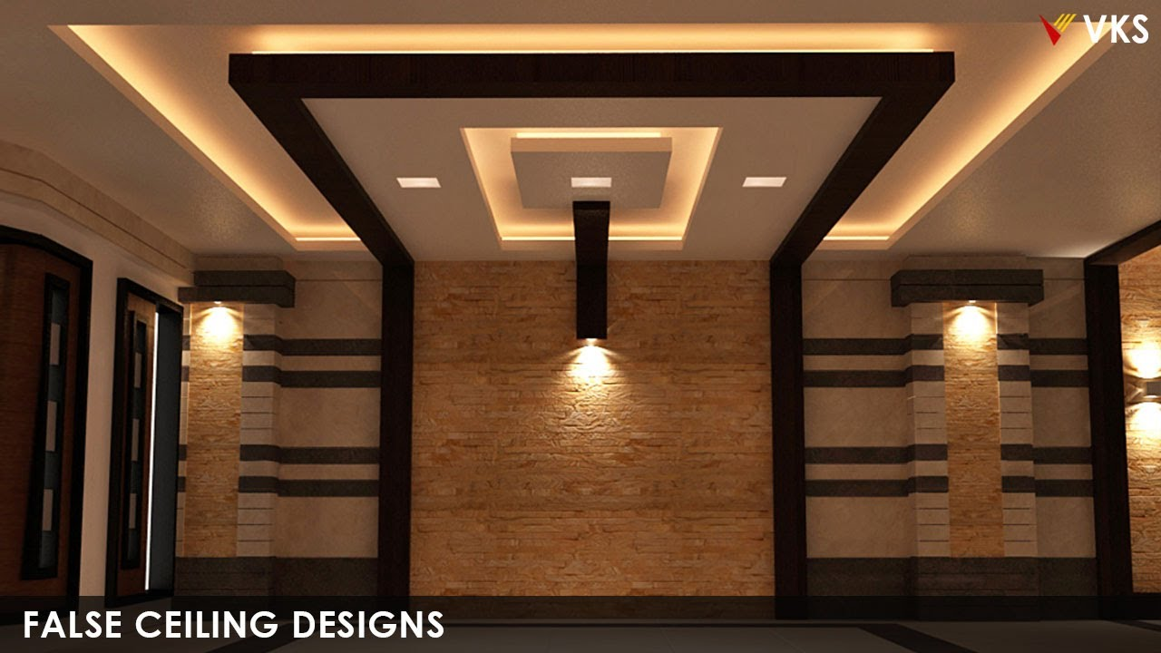 Modern False Ceiling Interior Designs  Bedroom Gypsum Ceiling Designs   POP False Ceiling Designs