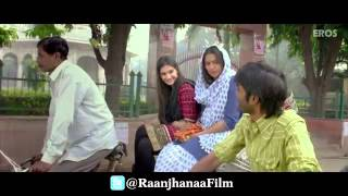 DHANUSH-BOLLYWOOD MOVIE Raanjhanaa Trailer