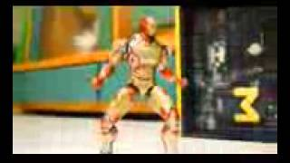 MUVIZA COM  Iron Man VS Thor Stop Motion Fight