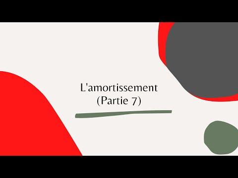 L'amortissement - Suite cours - B2/ B2bis - Partie 7 (شرح مبسط بالدارجة)