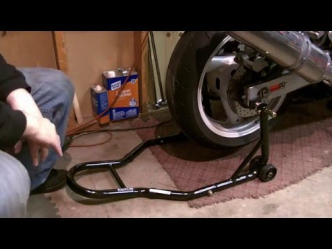Venom Motorcycle Stands Front Rear Trolley Detailed Review