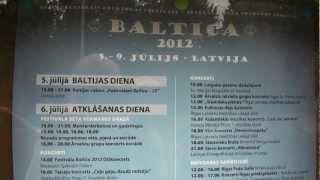 Starptautiskais folkloras festivāls BALTICA-2012. Latvija, 5.-9.jūlijs 00496.MTS