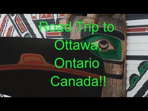 Ottawa Ontario Canada Road Trip