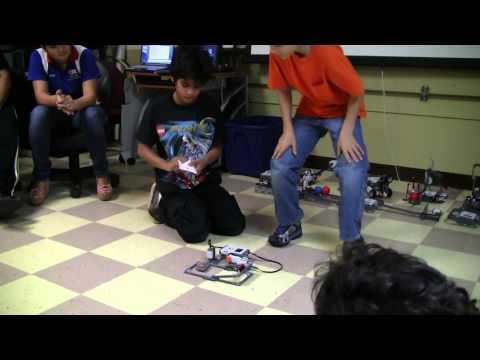 Summer Institute of Robotics 2011 - Elementary Section 2 - Robot Presentation