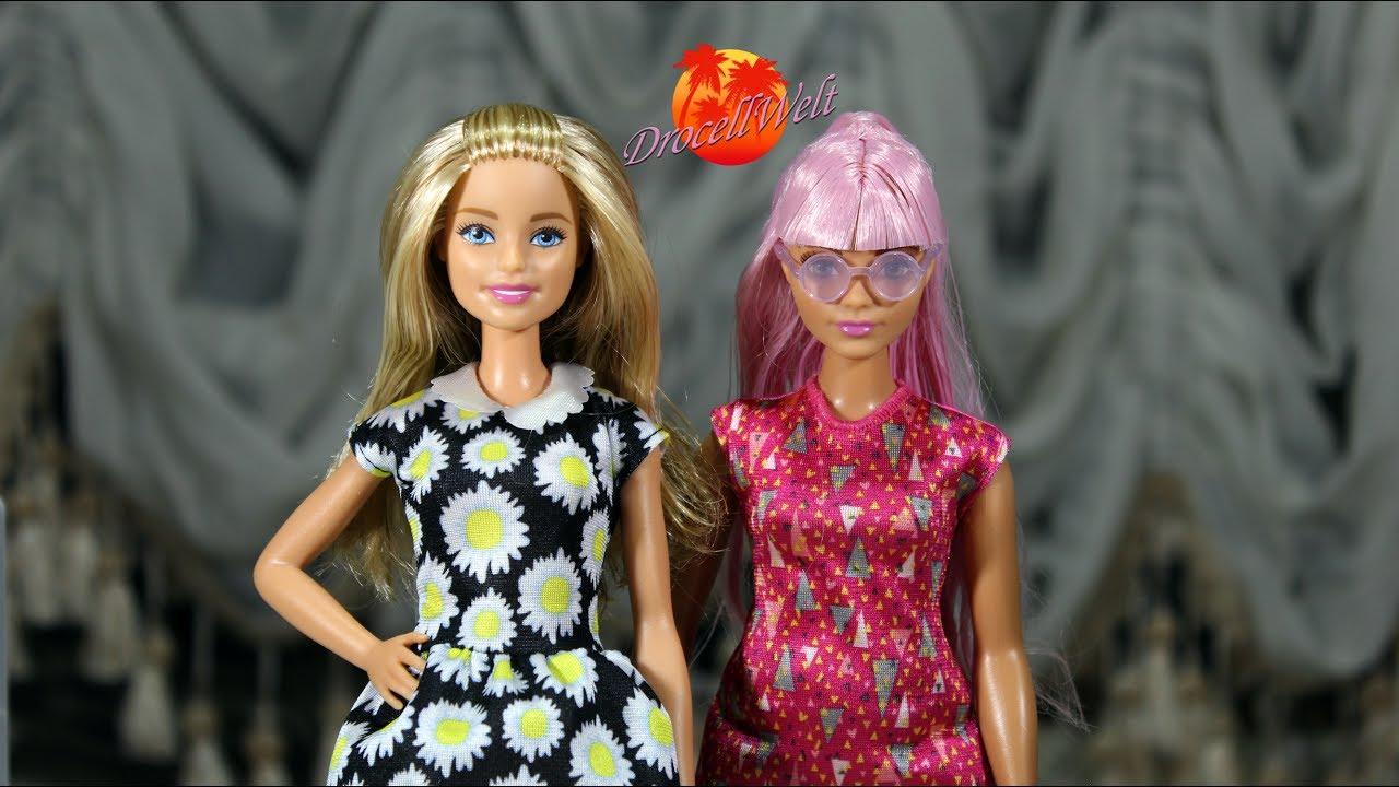 Обзор на Барби Толстушку и Барби с Щенком - YouTube