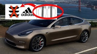 Adidas Robs Tesla