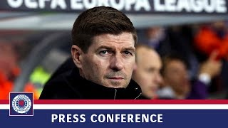 PRESS CONFERENCE | Steven Gerrard | Rangers 3-2 Braga