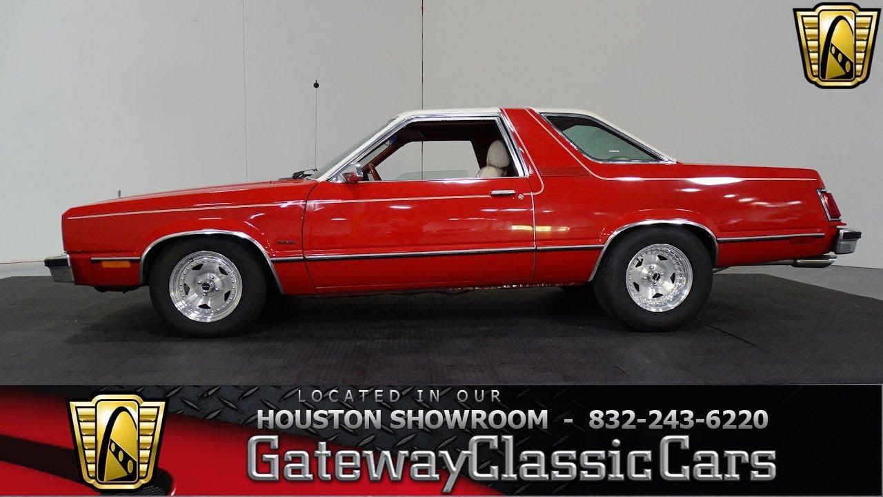1978 ford fairmont futura gateway classic cars 950 houston showroom