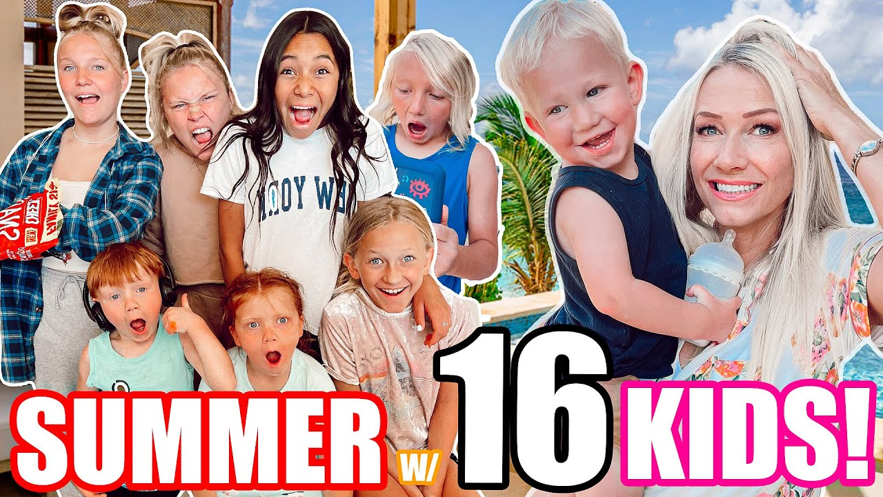 First Day of SUMMER Routine!!