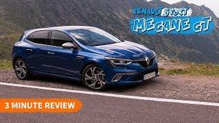 Renault Megane GT 1.6TCe / 3 Minute Reviews #01