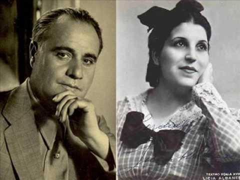"""Beniamino Gigli/Licia Albanese sings """"O soave fanciulla"""" from La Boheme"""