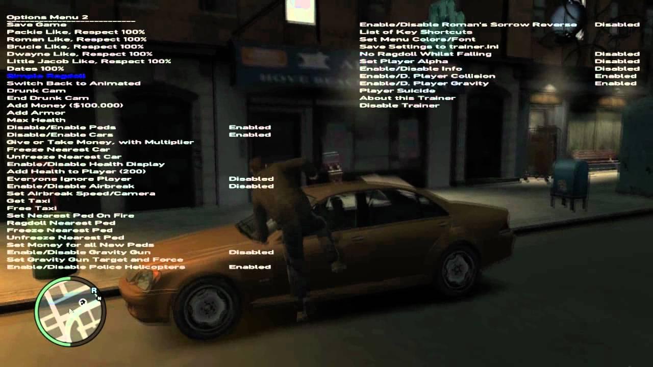 Installation + Tutoriel sur le simple native trainer de GTA 4 PC [HD]