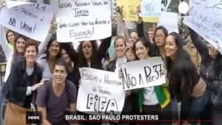 Бразильцы против спортивного шоу - футбол 2014 (2)