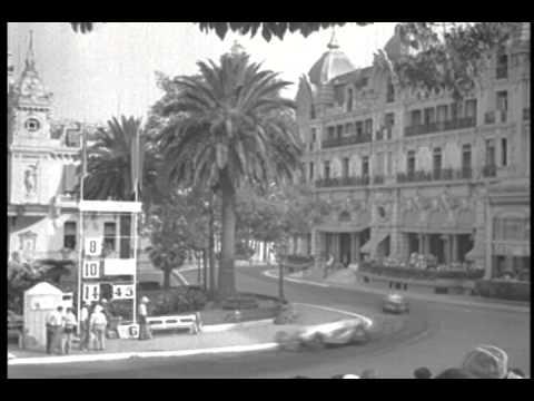 1937 Monaco Gran Prix von Brauchitsch Wins for Mercedes-Benz