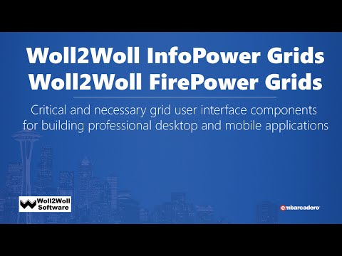 Woll2Woll - FirePower suite of components for FireMonkey