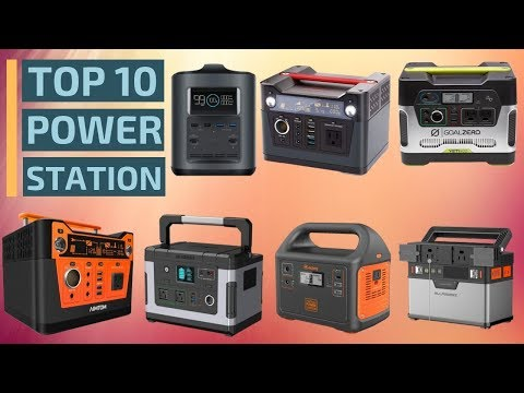 Top 10: Best Portable Power Stations of 2019 / Best Portable Solar Generators, Backup Power Supply