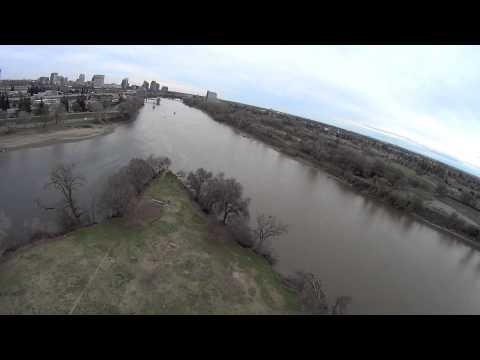 Discovery Park - Sacramento, CA USA (Aerial View)