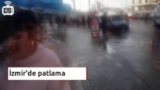 İzmir'de adliye yakınında patlama