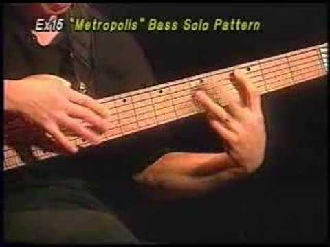 Metropolis Bass Solo by John Myung