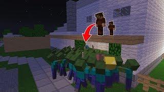 FAKİR'İN OTURDUĞU ŞEHİRE ZOMBİLER SALDIRIYOR! 😳 - Minecraft