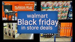 Walmart BLACK FRIDAY DEĄLS starting TODAY 11/14/2020 in store walk through