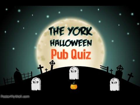 The York Halloween Quiz Preview