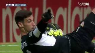 Sergio Rico Best Saves VS Barcelona 720p