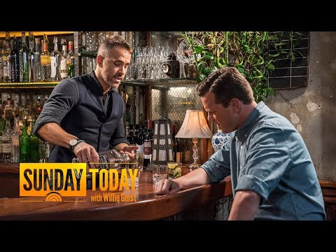 &x2018Dead;pool' Star Ryan Reynolds On His New Passion Project: Aviation Gin  Sunday TODAY