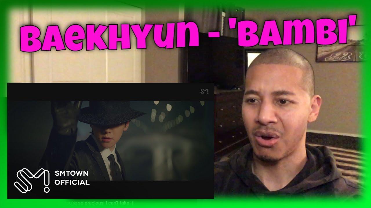 First Reaction to BAEKHYUN 백현 'Bambi' MV