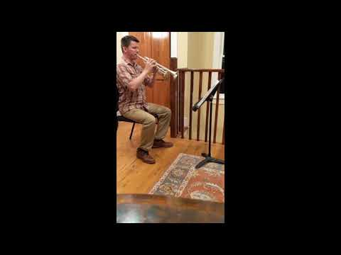 ATSSB Year C 2018 Duhem trumpet etude, performed by George Chase