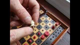 Simple metal and bone work for woodturners: Making an ISQ chess set pawn, video 1 of 3