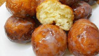 Творожные Пончики в сахарной помадке.Просто тают во рту.